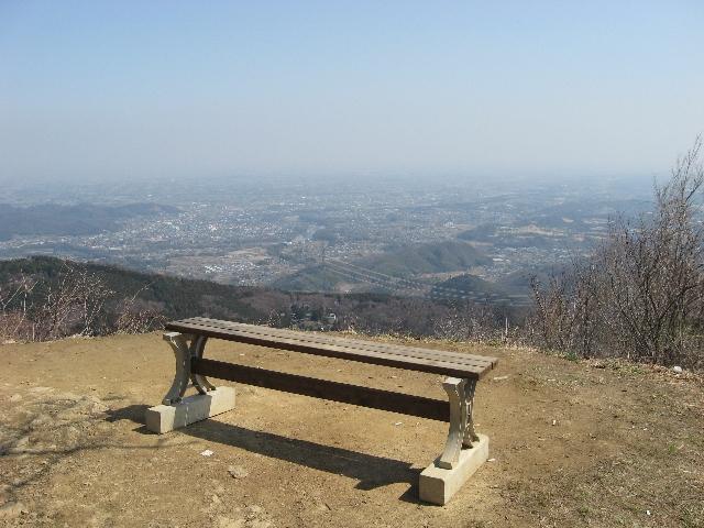 登谷山山頂からの展望