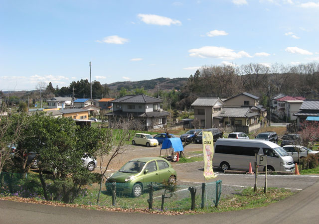 高麗本郷の有料駐車場