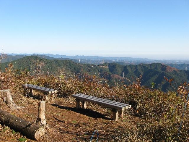 麻生山の山頂