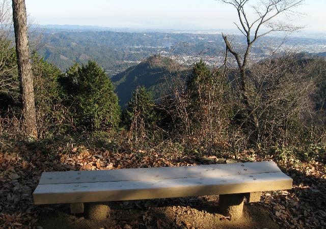 刈寄山山頂からの見晴らし