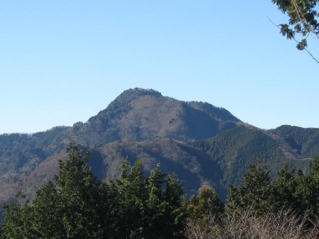 大岳山(日の出山より)