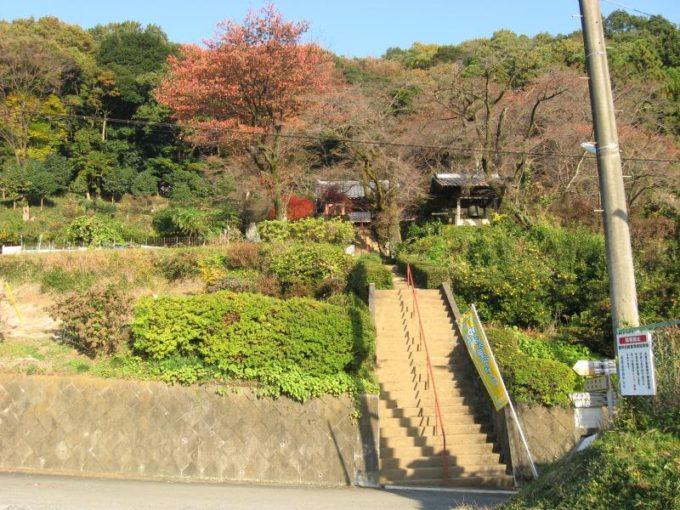 桂木観音入口(登山口)