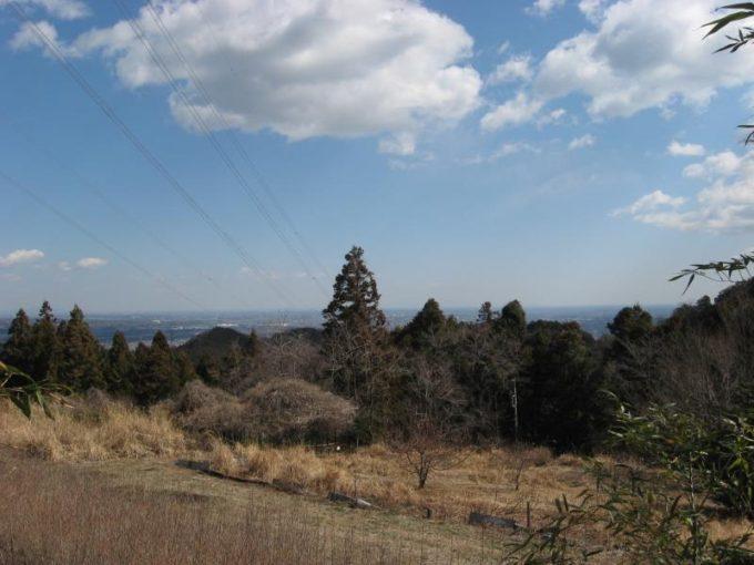 筑波山が見えるビューポイント