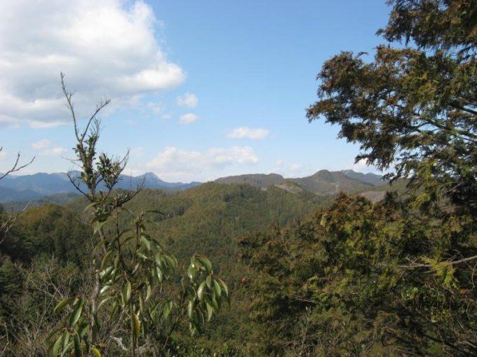スカリ山山頂から見える武甲山