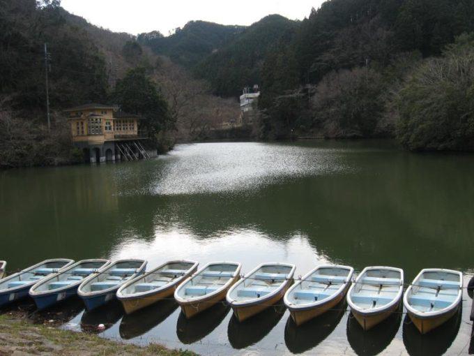 鎌北湖の風景