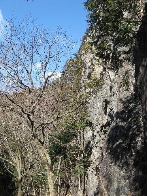 つづら岩全景