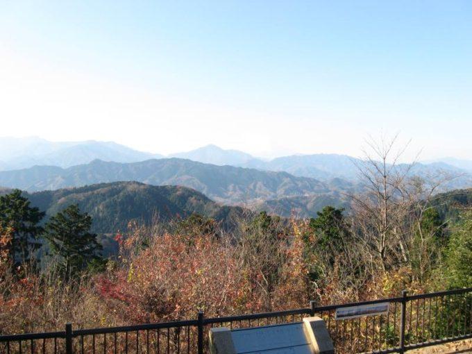 高尾山展望台からの眺め