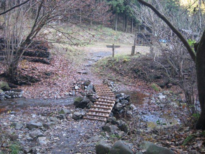 小川にある小さな橋