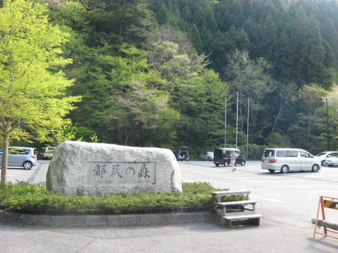 都民の森駐車場
