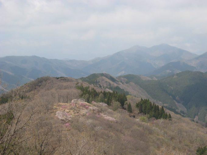 浅間嶺と三頭山そして大沢山