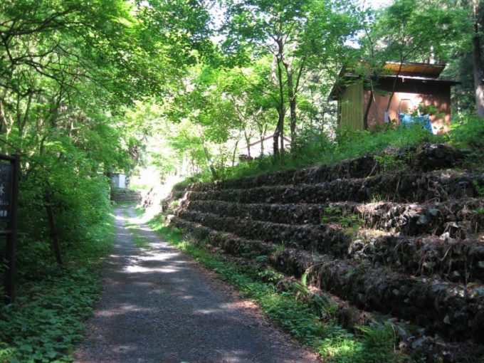 林業関係者の作業小屋