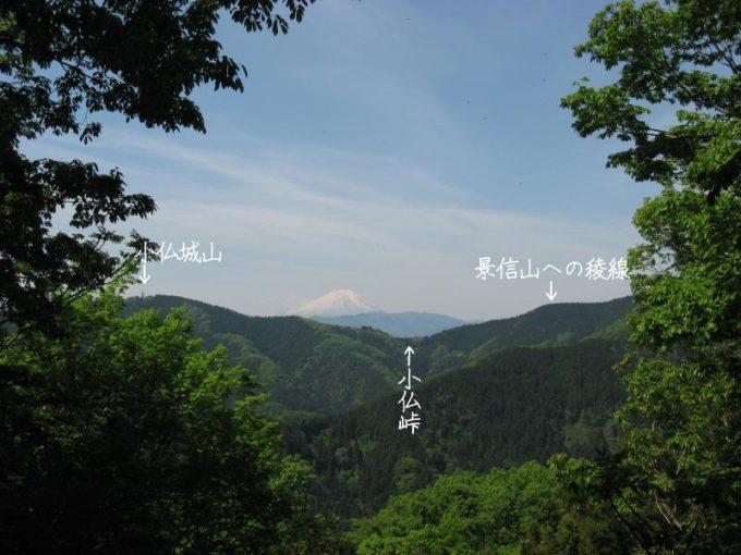 富士見台からの眺め
