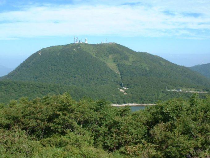 長七郎山山頂から見た地蔵岳