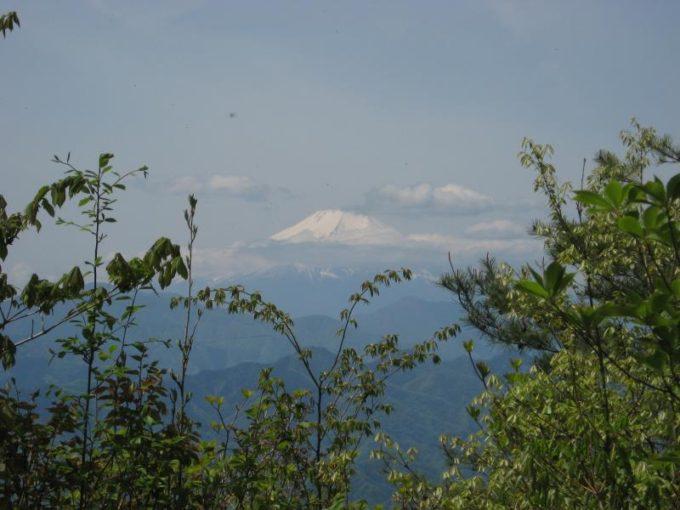 生藤山山頂から見た富士山