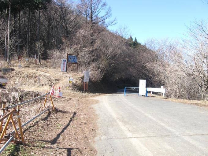 七重峠から堂平山へ