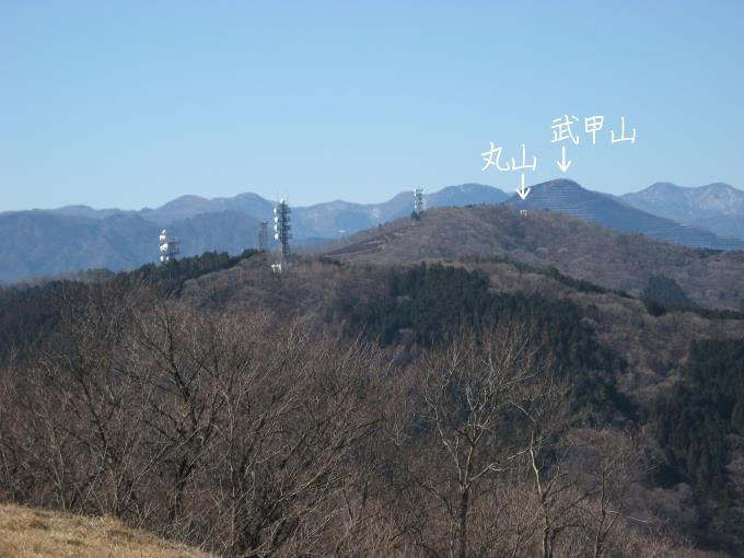 丸山と武甲山