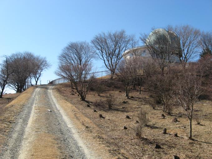 旧天文台方向へ