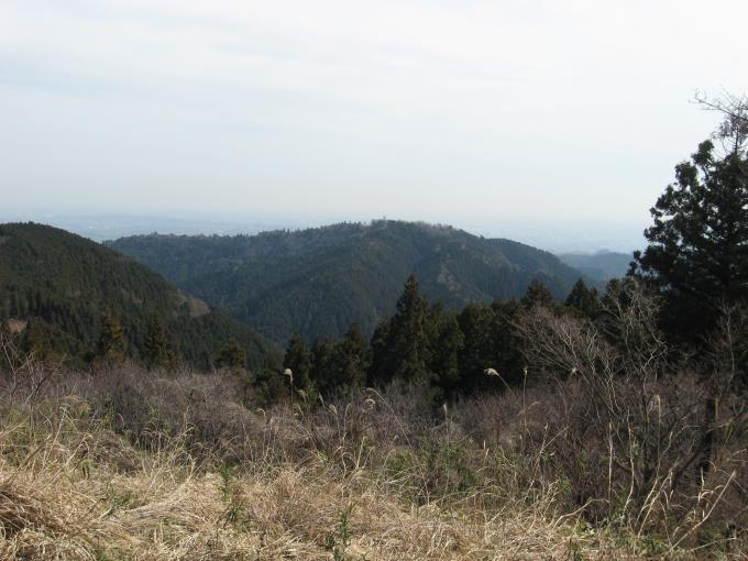 高尾山方面の展望