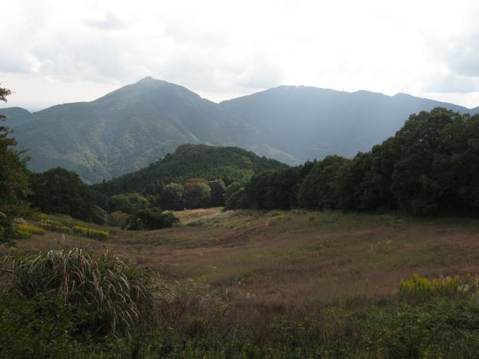 笠山と堂平山