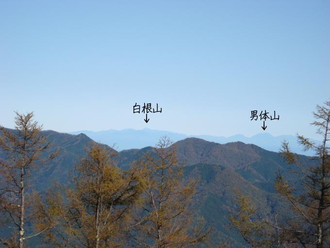 栃木県の山々の展望