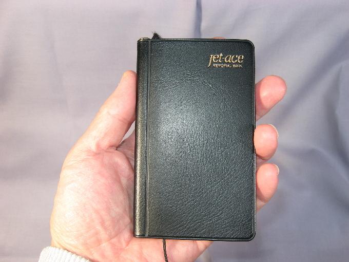 ジェットエース手帳
