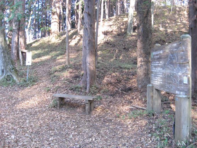 土俵岳への登山口