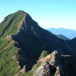 八ヶ岳(赤岳を臨む)