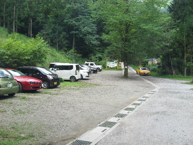 武甲山御嶽神社駐車場