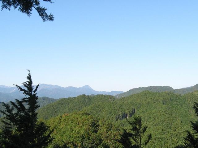 スカリ山山頂からの展望