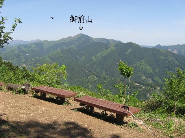 浅間嶺山頂からの展望