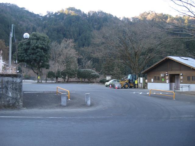 秩父多摩国立公園十里木駐車場