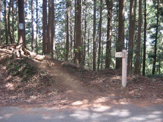 スカリ山登山口