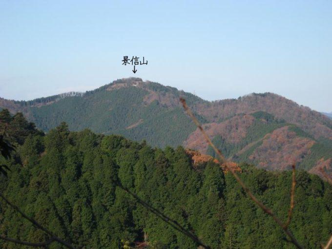 ビアマウントから景信山
