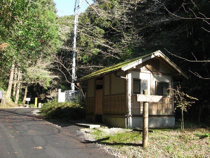 黒山三滝駐車場先公衆トイレ