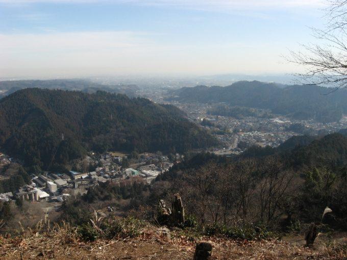 勝峰山展望台より