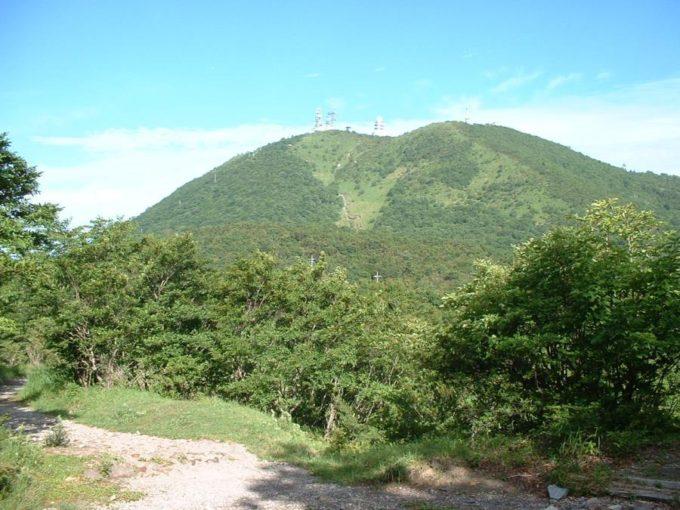 長七郎山から見た地蔵岳