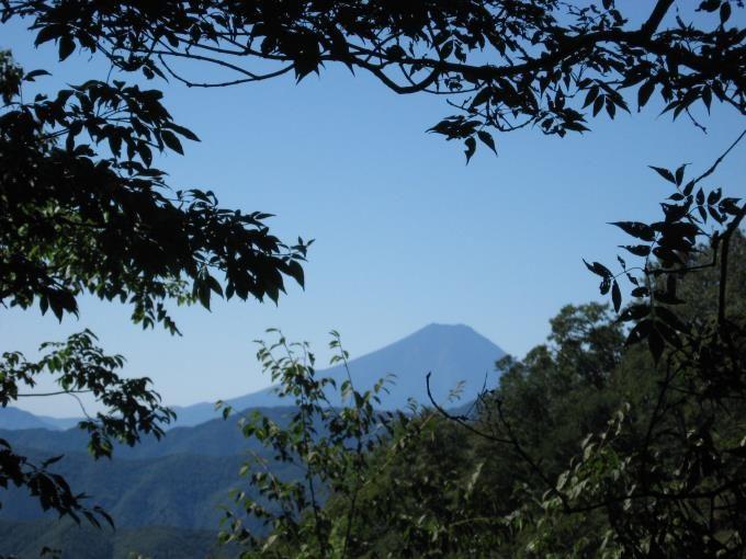 富士山(登山道より)