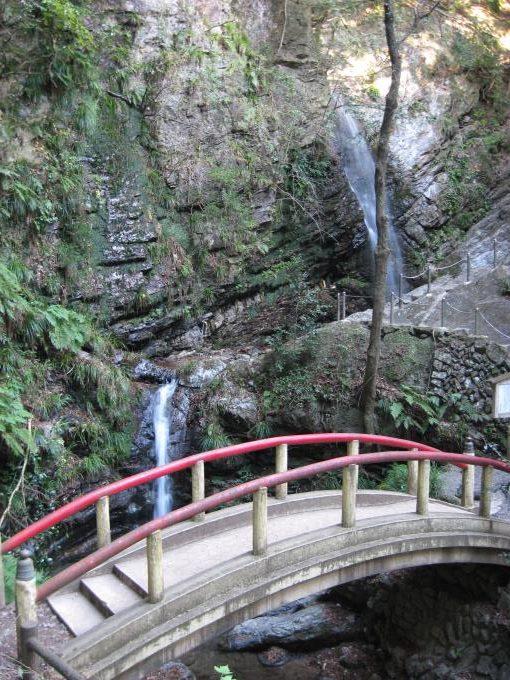男滝・女滝(黒山三滝)