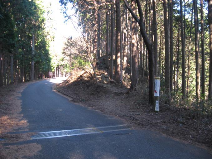 関八州見晴台への入口