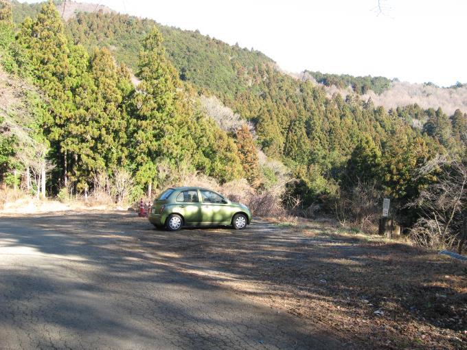 笠山神社参拝者用駐車場