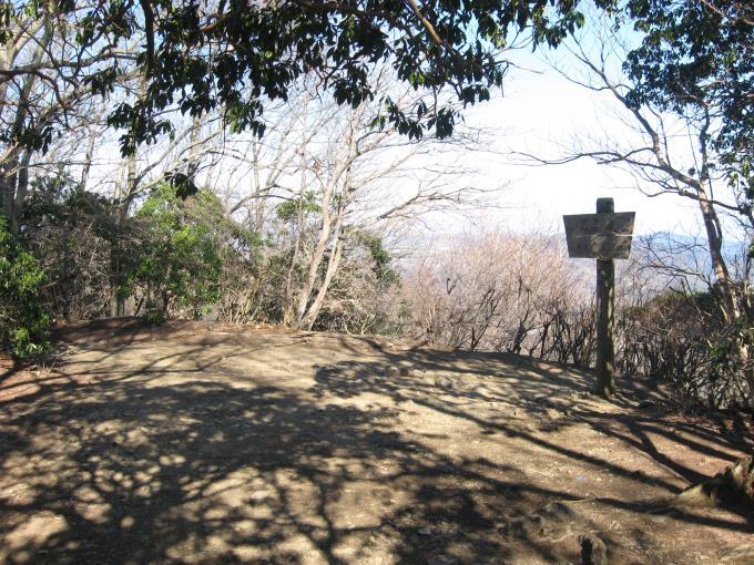 笠山(西峰)