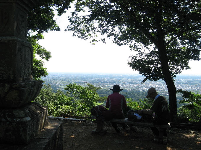 日和田山からの展望