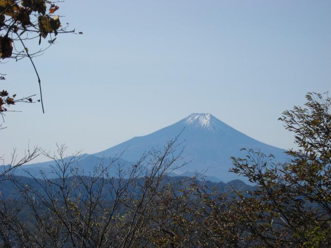 富士山のアップの写真