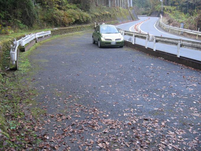 上川乗駐車スペース
