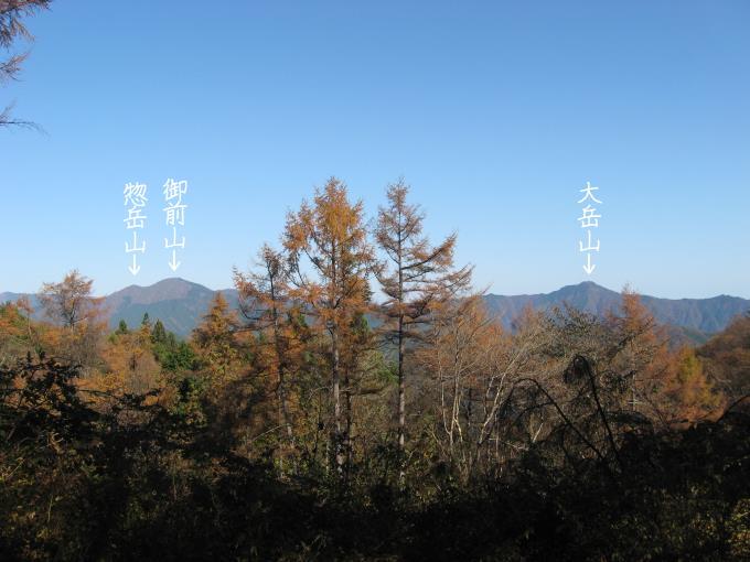 土俵岳からの展望