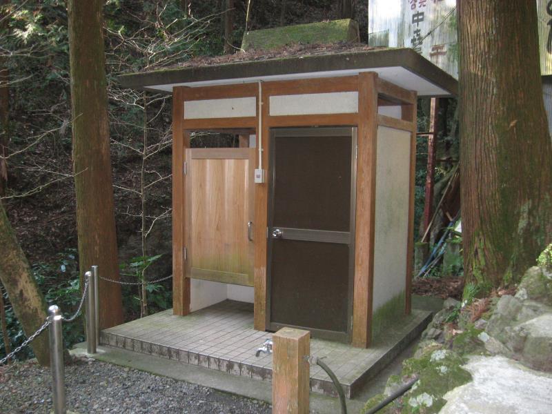 黒山三滝前簡易トイレ