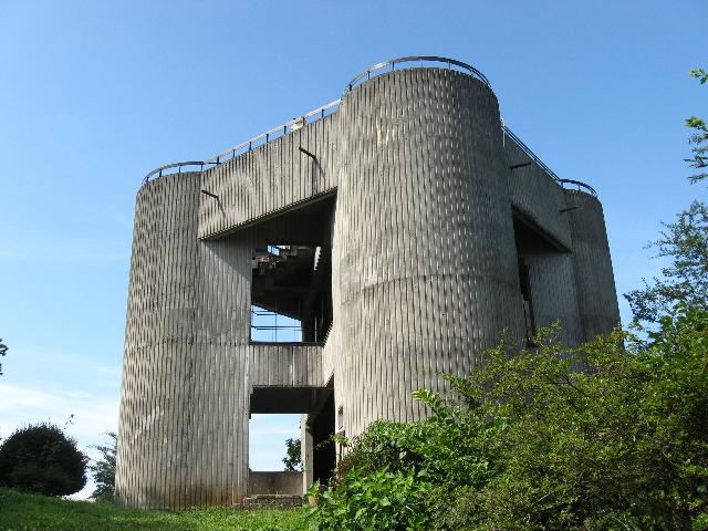埼玉県丸山山頂にある展望台