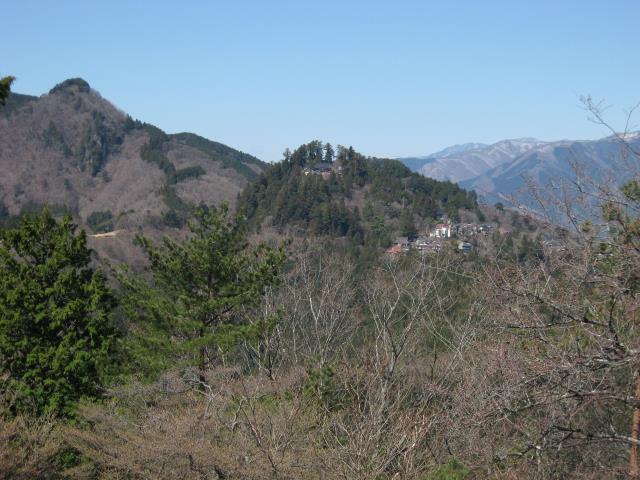 御嶽神社方面の展望