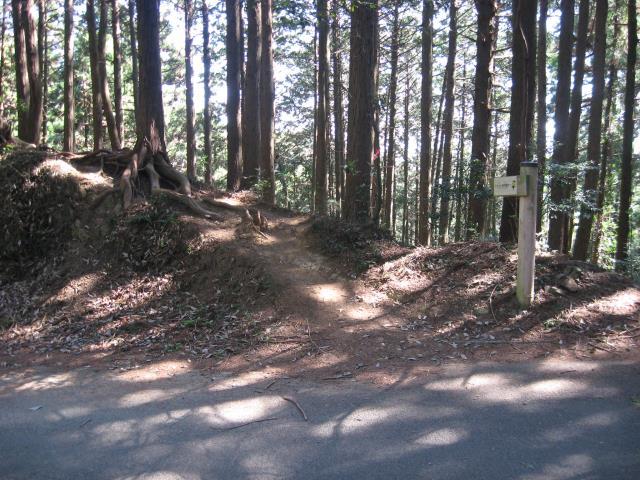 スカリ山入口