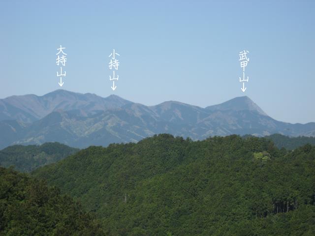 観音ケ岳からの展望